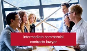 Vacancy for an intermediate commercial contracts lawyer